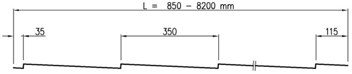Профиль листа стали