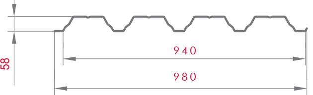 Профнастил ПН-60, цены 2016 – Симферополь, Бахчисарай, Севастополь. Купить, доставка по Крыму