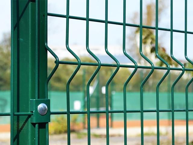 Купить 3D забор с зелёным полимерным покрытием для дачи в Крыму, Симферополе