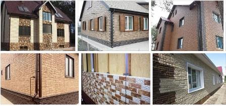 Недорого купить наружные фасадные панели для отделки дома «под камень» и «под кирпич» в Крыму предлагает по выгодным ценам компания «Кровля-Про»