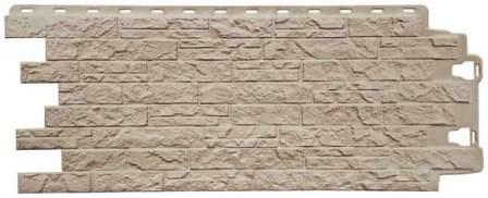 Вид фасадной панели - цокольного сайдинга - под камень