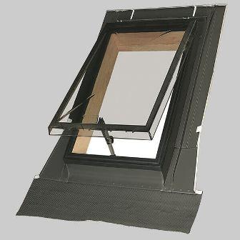 особенности конструкции мансардного окна FAKRO