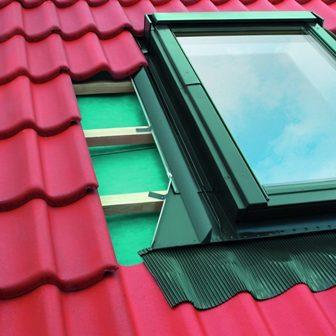 мансардные окна fakro  - конструкция