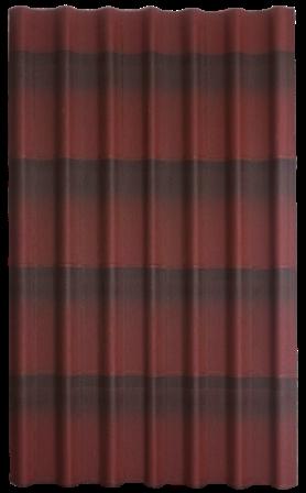 Лист красного онлулина