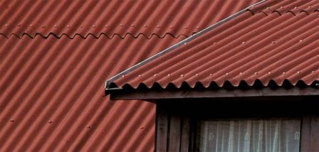 Ондулин на крыше в Ялте