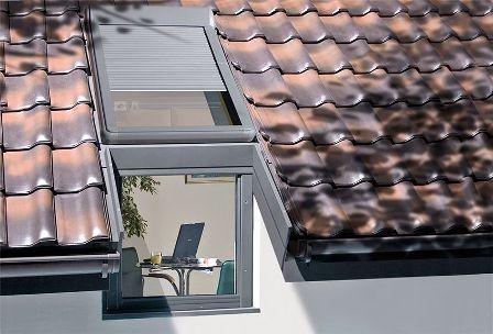 мансардные окна на крыше