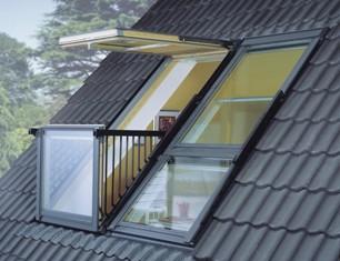 мансардное окно-балкон Велюкс