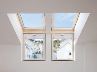 мансардные окна велюкс в интерьере чердака