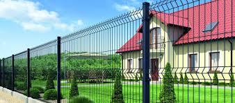 3D забор в Советском и Нижнегорском из оцинкованной евросетки для ограждения производственной территории